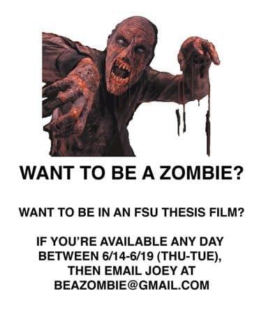 Zombie Flyer