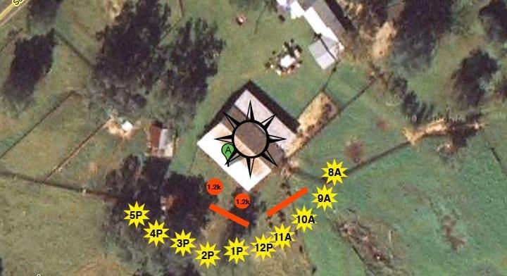 Barn Lighting Diagram