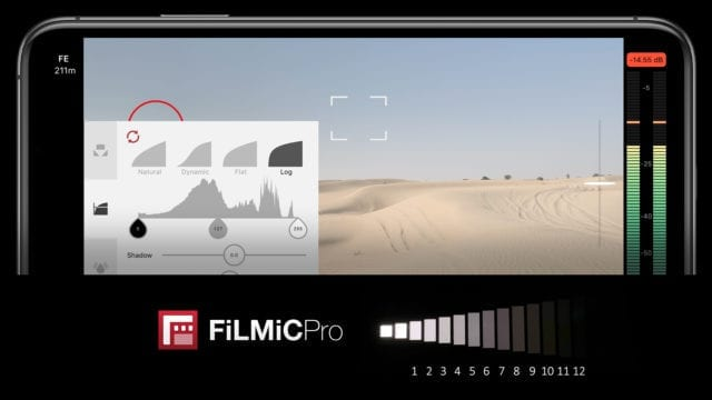Screenshot of FiLMiC Pro