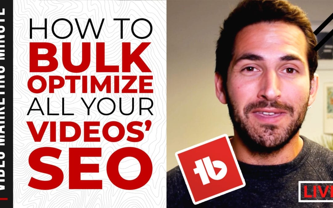 How to Update Old YouTube Videos & Boost Their SEO