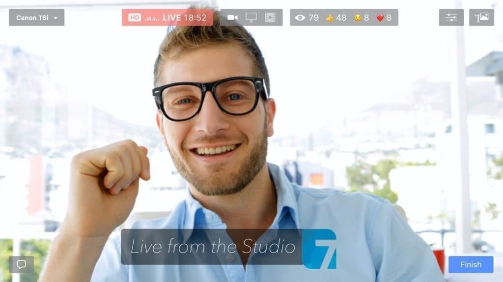 Ecamm live output interface