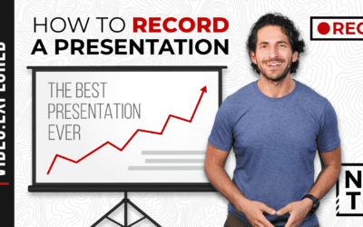 How to Record Your Slides from Any Presentation Program