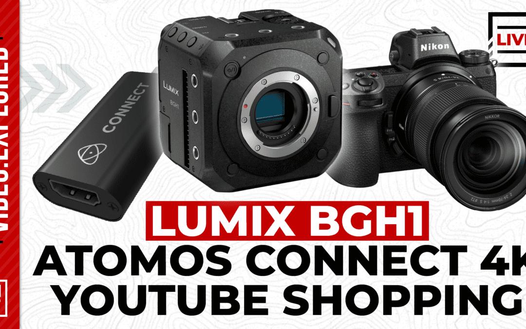 Panasonic's Hybrid Live Camera, YouTube Shopping, and More