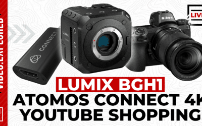 Panasonic's Hybrid Live Camera, YouTube Shopping, and More