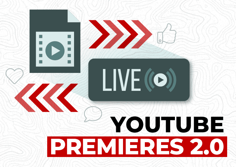 Video File and Live Stream Icons