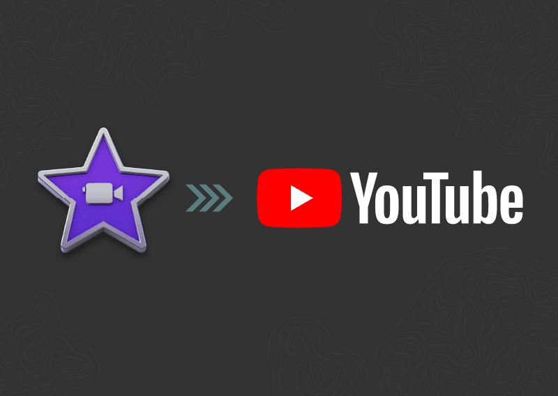 iMovie logo uploading to YouTube